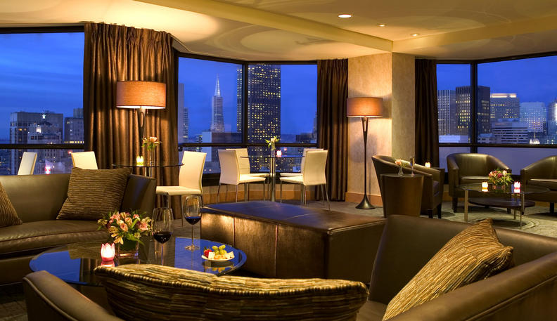Contemporary And Cool At Parc 55 Hotel Citybuzz A