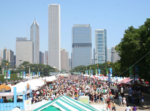 1  Culinary Fireworks at Taste of Chicago June 25-30