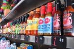 Huahua's hot sauces