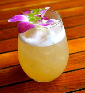 Sugarcane cocktail
